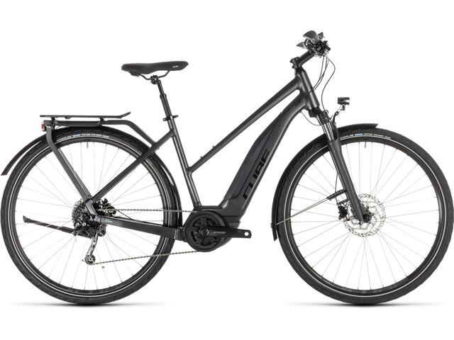 Cube Touring Hybrid 500 - Bicicletas eléctricas de trekking - Trapez gris